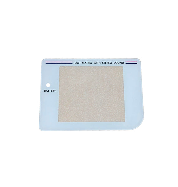 DMG Game Boy DMG Glass Lens White