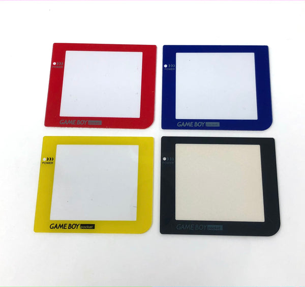 Game Boy Pocket Replacement Colored Screen Lens Plastic