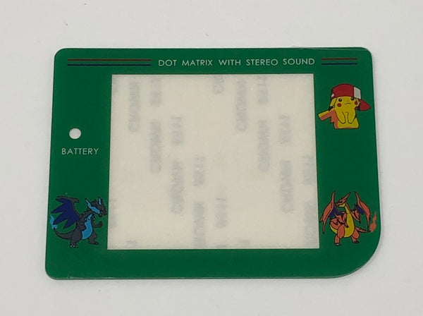 Nintendo Original DMG-01 Green Pokemon Screen Lens Replacement
