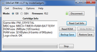 GBxCart RW (Gameboy/GBC/GBA Cart Reader, Writer & Flasher)  v1.3 Pro