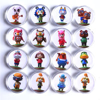 Animal Crossing: New Horizons Amiibo NFC Coin 16 piece full set