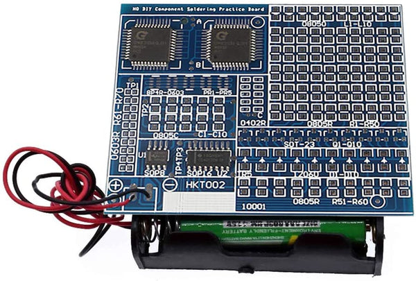 Solder Practice Skill Kit Training Board with SMD | IC New Version