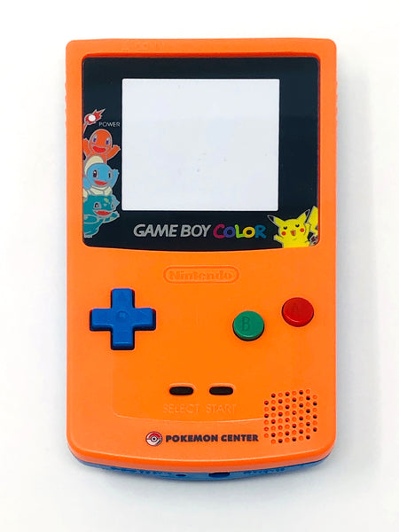 Game Boy Color Pokemon Center 3 Year Anniversary Housing