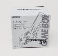 Game Boy Advance SP Replacement Boxes