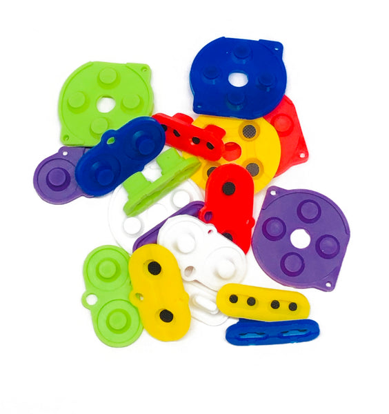 Game Boy Color Silicone Button Pads