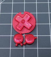 JellyBelly Game Boy Color Custom Raspberry Candy Buttons