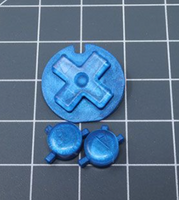 JellyBelly Game Boy Color Custom Blue Berry Candy Buttons