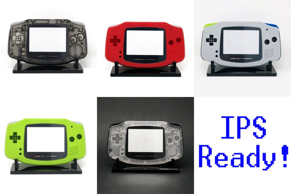 Game Boy Advance IPS Ready Shells