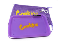 Cookies LED Rolling Glow Light Up Tray Rechargeable USB-C Newest Version Purple