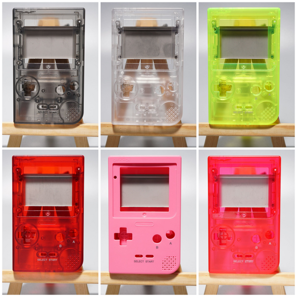 FunnyPlaying Game Boy Pocket IPS Backlight Ready Shell Housing No Cut