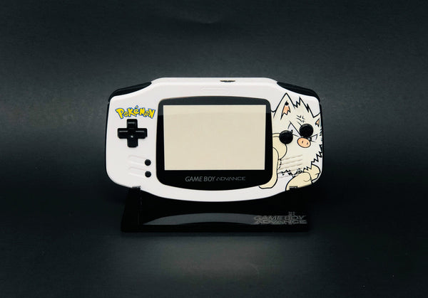 FunnyPlaying Game Boy Advance IPS Ready UV Printed Shell Mankey