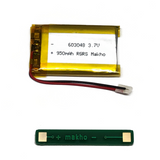 GBA SP Game Boy Advance SP Rechargeable 950mAh LiPo Battery Mod By Makho