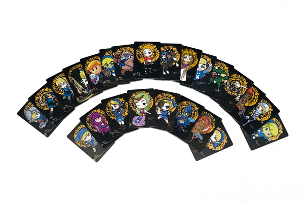 Complete 24 Pieces Zelda New High Quality Cards Amiibo NFC Cards - BOTW