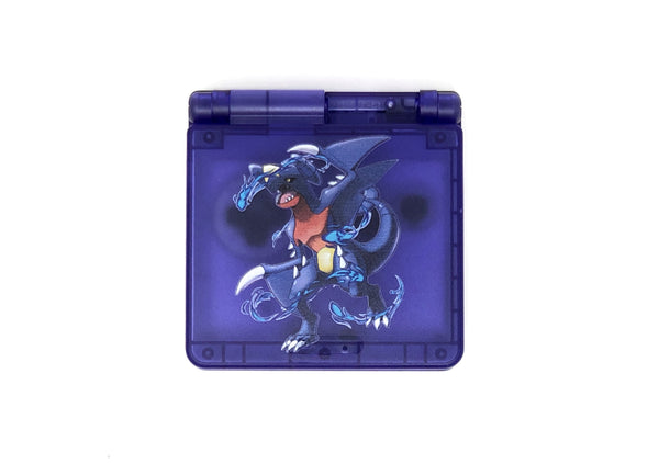 Game Boy Advance SP UV Printed IPS Ready Shell Garchomp