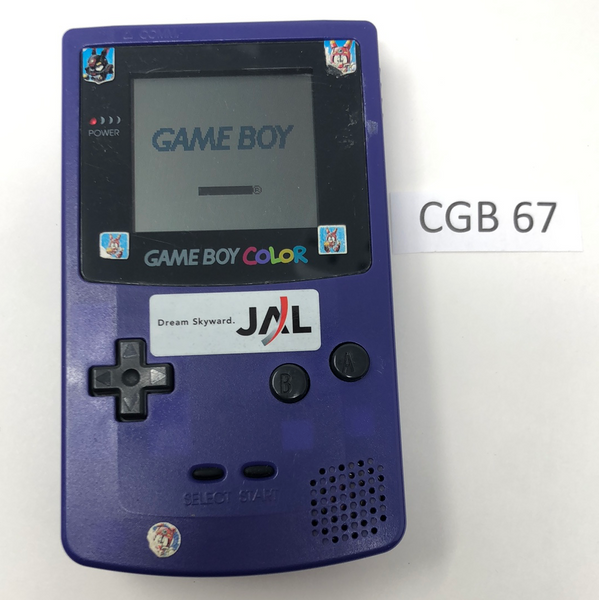 CGB 67 Game Boy Color CGB-001 Used