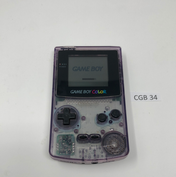 CGB 34 Game Boy Color CGB-001 Used