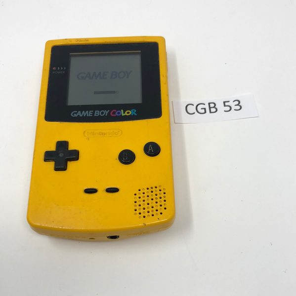 CGB 53 Game Boy Color CGB-001 Used