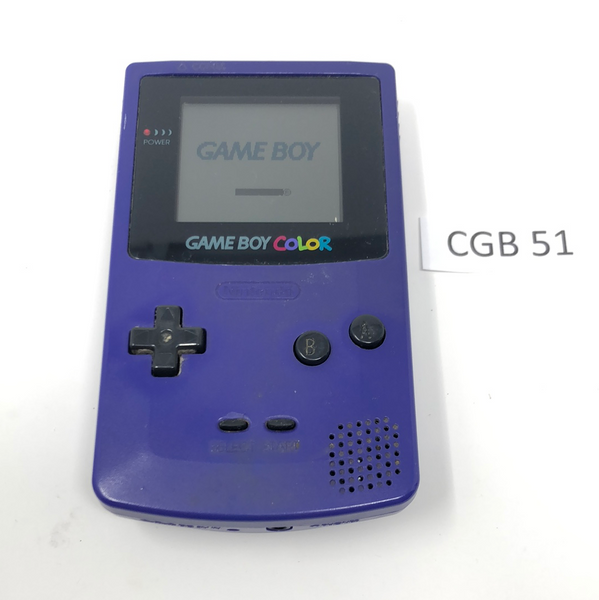 CGB 51 Game Boy Color CGB-001 Used