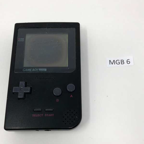MGB 6 Game Boy Pocket MGB-001 Used