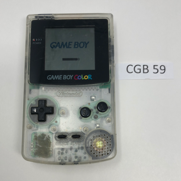 CGB 59 Game Boy Color CGB-001 Used