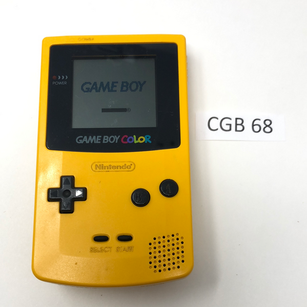 CGB 68 Game Boy Color CGB-001 Used