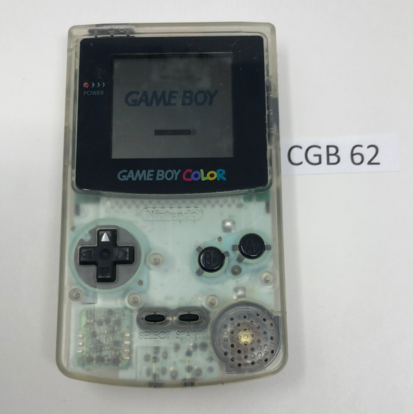 CGB 62 Game Boy Color CGB-001 Used