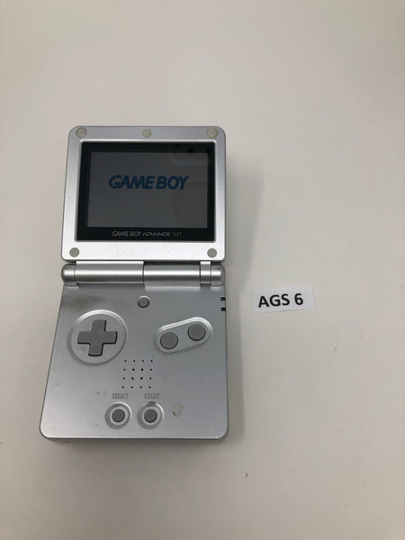 AGS 6 Game Boy Advance SP AGS-001 Used