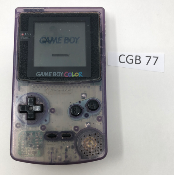 CGB 77 Game Boy Color CGB-001 Used