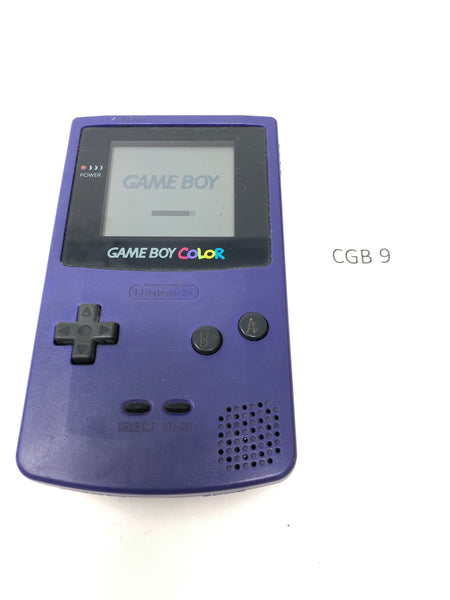 CGB 9 Game Boy Color CGB-001 Used