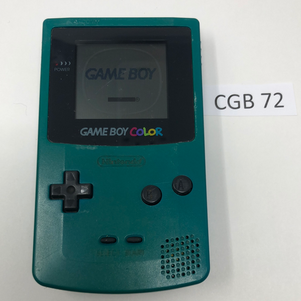 CGB 72 Game Boy Color CGB-001 Used