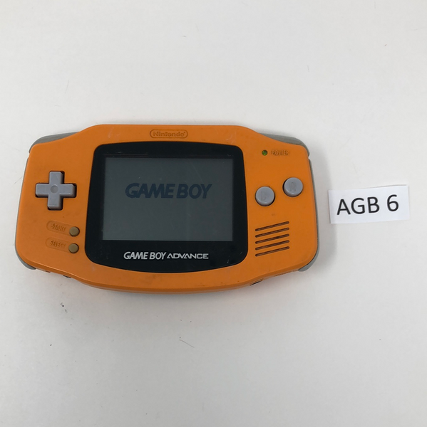 AGB 6 Game Boy Advance AGB-001 Used