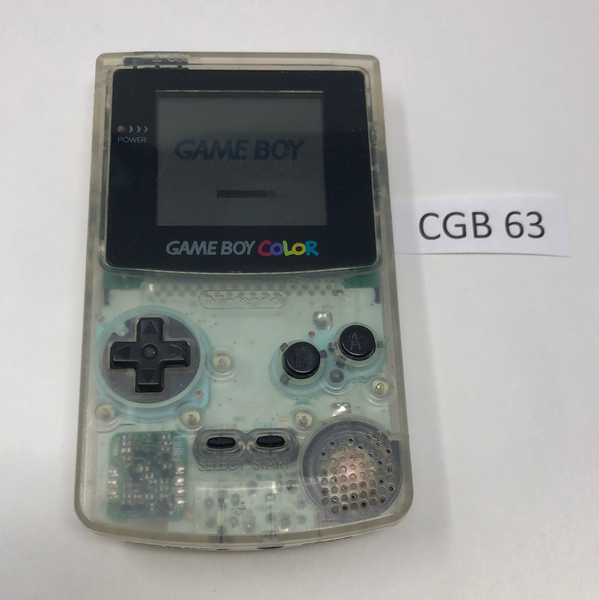 CGB 63 Game Boy Color CGB-001 Used