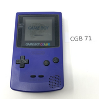 CGB 71 Game Boy Color CGB-001 Used