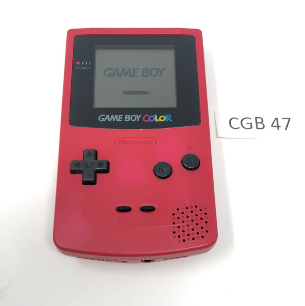 CGB 47 Game Boy Color CGB-001 Used
