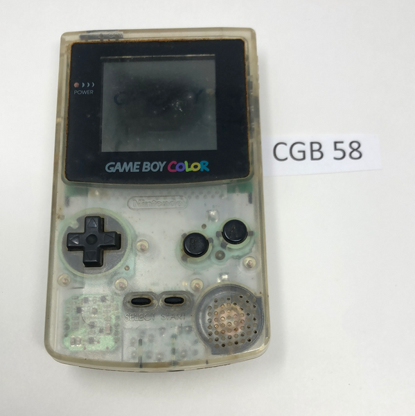 CGB 58 Game Boy Color CGB-001 Used