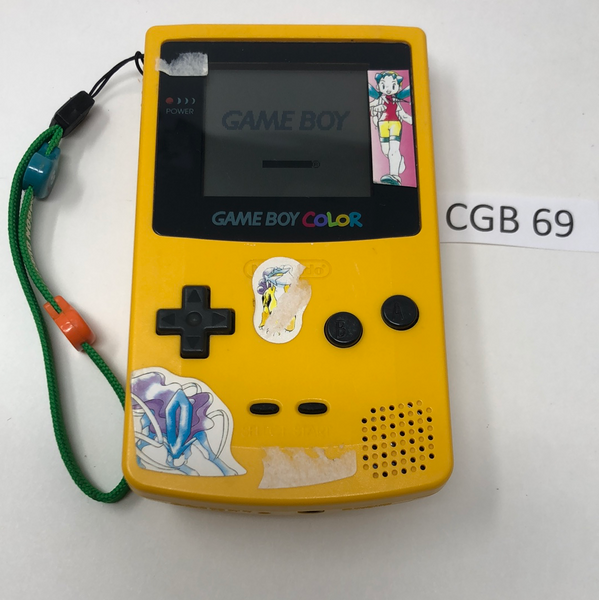 CGB 69 Game Boy Color CGB-001 Used