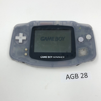 AGB 28 Game Boy Advance AGB-001 Used