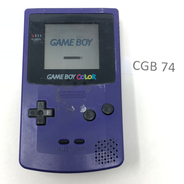 CGB 74 Game Boy Color CGB-001 Used