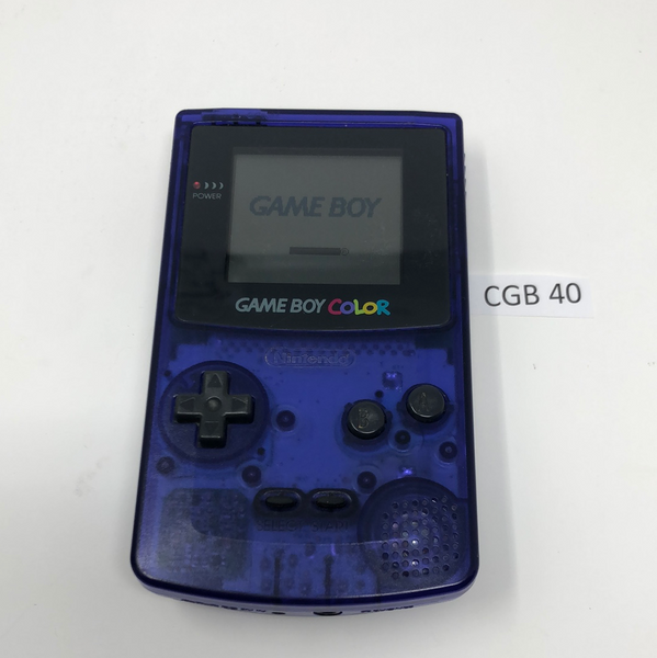 CGB 40 Game Boy Color CGB-001 Used