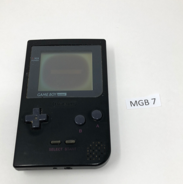 MGB 7 Game Boy Pocket MGB-001 Used
