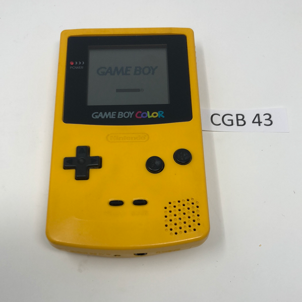 CGB 43 Game Boy Color CGB-001 Used
