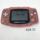 AGB 23 Game Boy Advance AGB-001 Used