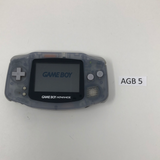 AGB 5 Game Boy Advance AGB-001 Used