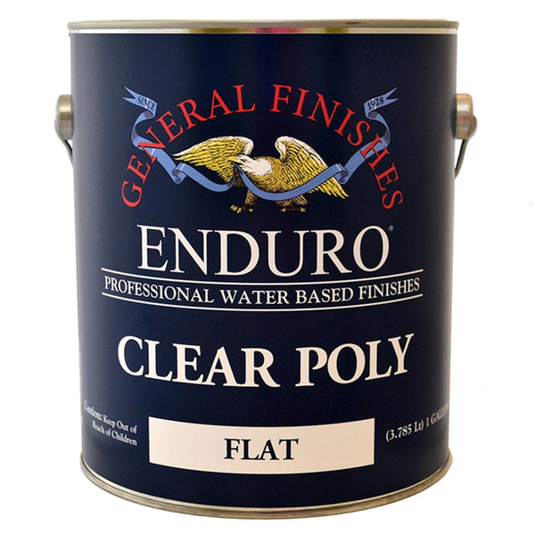 Enduro Clear Poly Flat, 1 Gallon