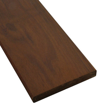 1 x 6 Ipe Wood Decking Sample