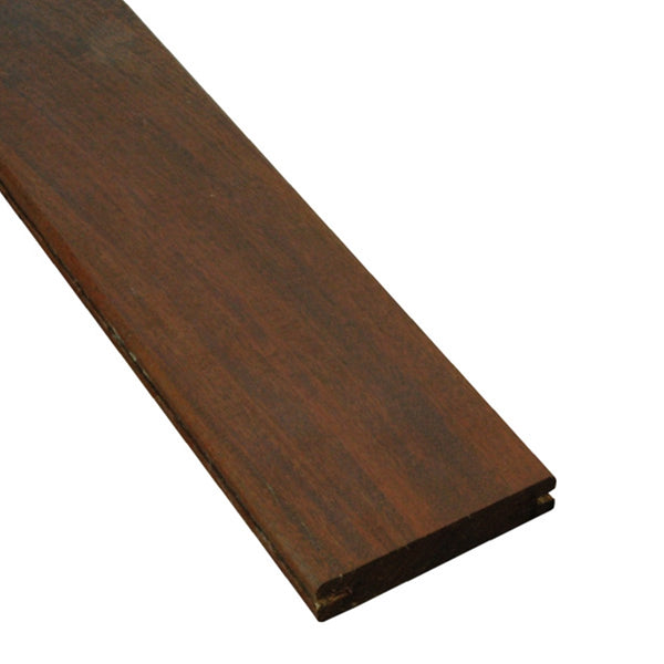 1 x 4 Ipe Wood Pregrooved Decking Sample