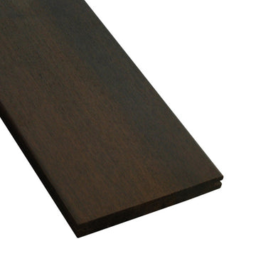 1 x 6 Ipe Wood Pregrooved Decking Sample