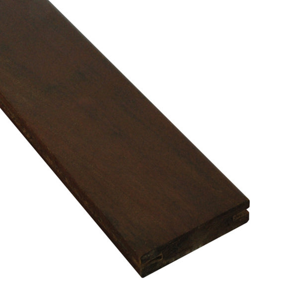 5/4 x 4 Ipe Wood Pregrooved Decking Sample