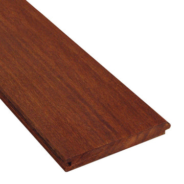 1 x 6 Cumaru Wood T&G Decking Sample