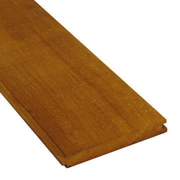 1 x 6 Garapa Wood T&G Decking Sample